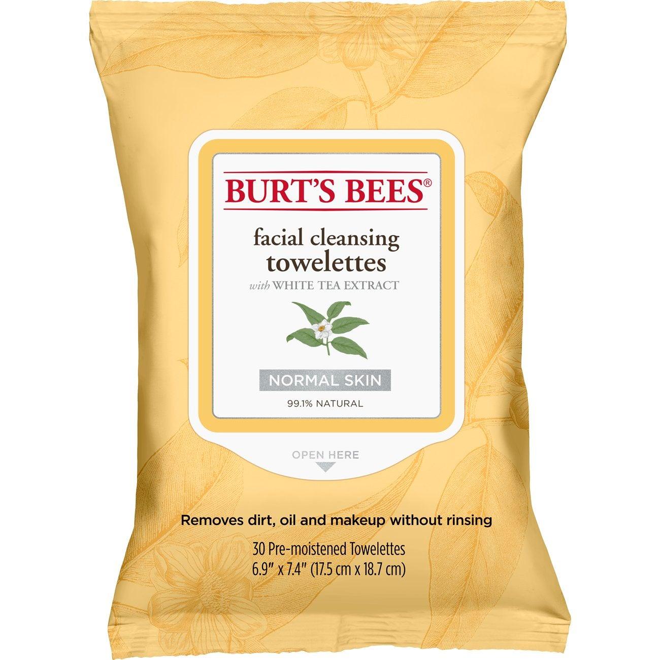 Toallitas Extracto de té blanco – 30 unidades